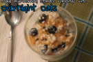 Blueberry Overnight Oats by Collegiate Cook