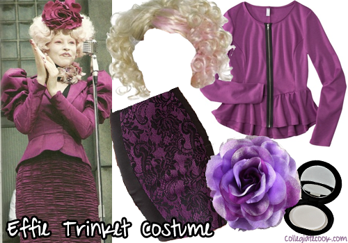 The Hunger Games, Effie Trinket costume -- Collegiate Cook