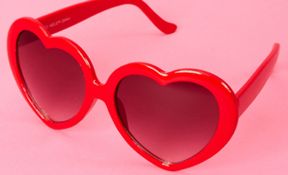 Heart Sunglasses, Fred Flare;