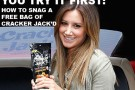 Cracker Jack'd and Ashley Tisdale